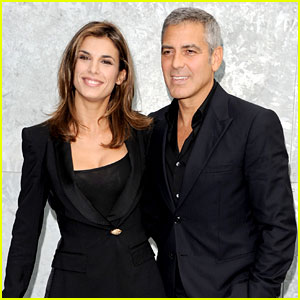 George Clooney & Elisabetta Canalis Shared a 'Father-Daughter Relationship'