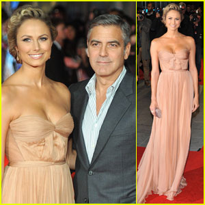 George Clooney & Stacy Keibler: 'Descendants' Premiere!
