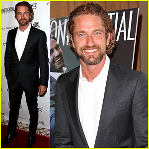 Gerard Butler: 'Los Angeles Confidential' Cover Party!