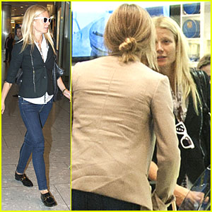 Gwyneth Paltrow &#038; Cameron Diaz: Heathrow Departure Duo