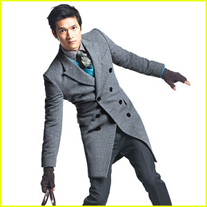 Harry Shum, Jr. Suits Up for GQ