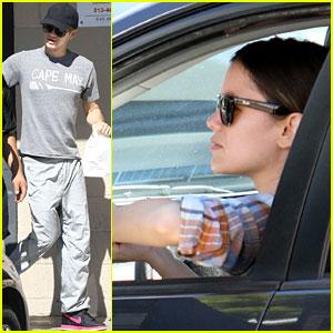 Rachel Bilson & Hayden Christensen Run Errands in Los Feliz