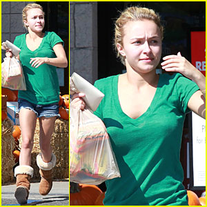 Hayden Panettiere: Grocery Shopping on Sunday