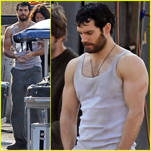 Henry Cavill: Arms of Steel for 'Man of Steel'!