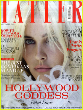 Isabel Lucas Covers 'Tatler' November 2011