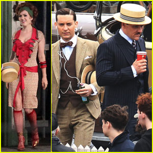 Tobey Maguire & Isla Fisher: 'Great Gatsby' Goes Down Under
