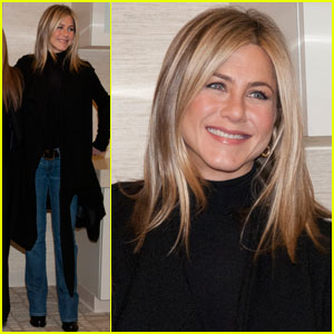 Jennifer Aniston: Inova Alexandria Hospital Visit With Jill Biden