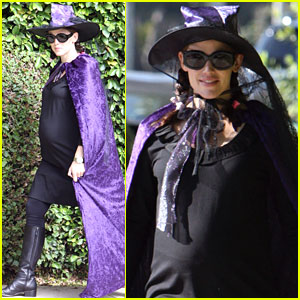 Jennifer Garner: Witchy Halloween Wardrobe!