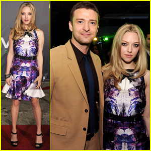 Justin Timberlake & Amanda Seyfried: 'In Time' L.A. Premiere!