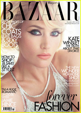 Kate Winslet Covers 'Harper's Bazaar UK' November 2011