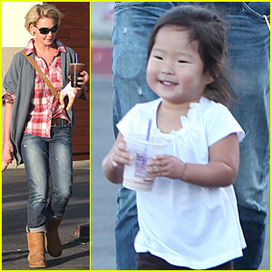 Katherine Heigl & Josh Kelley: Zoo Visit with Naleigh!