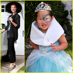 Katherine Heigl & Naleigh: Mommy-Daughter Halloween Fun!