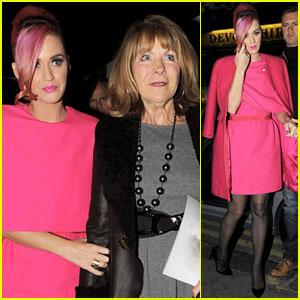 Katy Perry: Night Out with Mother-In-Law Barbara!