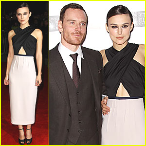 Keira Knightley: 'Dangerous Method' London Premiere!