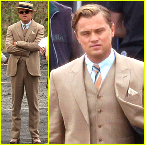 Leonardo DiCaprio Suits Up in Sydney