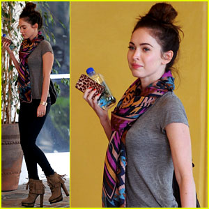 Megan Fox: 'Puss in Boots' With the Family!