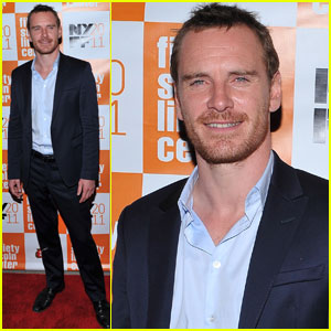 Michael Fassbender: 'Dangerous Method' at NY Film Festival!