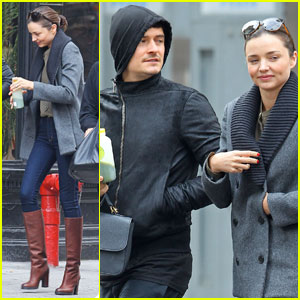 Miranda Kerr & Orlando Bloom: Downtown Duo