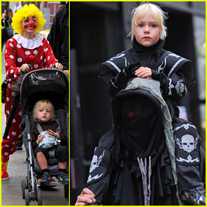 Naomi Watts: Clownin' Around on All Hallow's Eve!