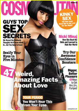 Nicki Minaj Covers 'Cosmopolitan' November 2011