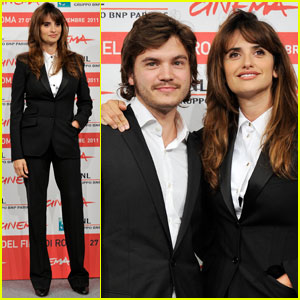 Penelope Cruz &#038; Emile Hirsch: Rome Film Festival!