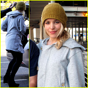 Rachel McAdams: Home For Canadian Thanksgiving!