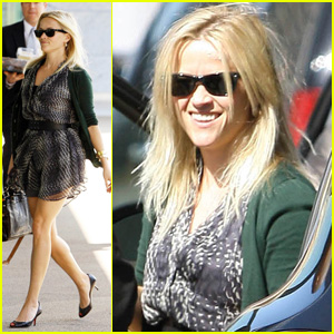 Reese Witherspoon: Century City Meeting!