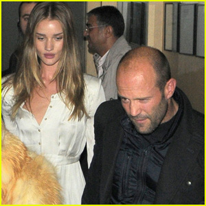 Rosie Huntington-Whiteley & Jason Statham: Nobu Lovers!