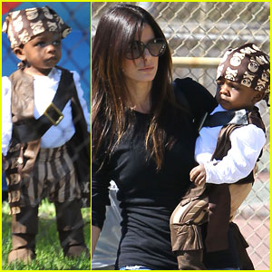 Sandra Bullock & Louis: Pirate Party!