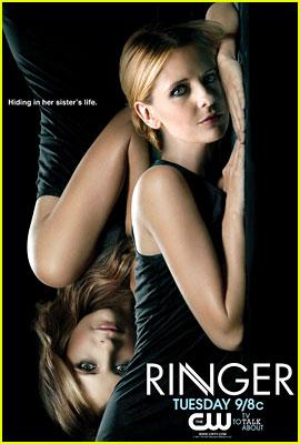 Sarah Michelle Gellar: New 'Ringer' Promo Poster!