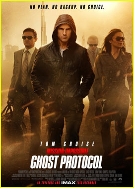 Tom Cruise: New 'Mission: Impossible - Ghost Protocol' Poster!