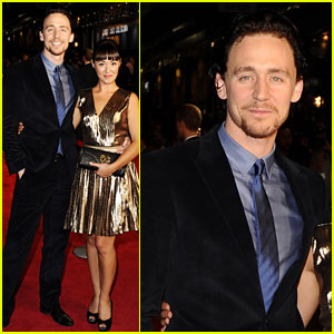 Tom hiddleston looks dapper at the premiere for 360 held at the odeon