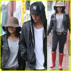 Vanessa Hudgens & Austin Butler: Rainy Day Duo