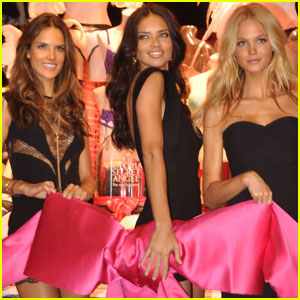 Adriana Lima & Alessandra Ambrosio: VS Angels in San Juan!