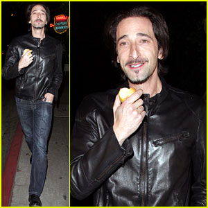 Adrien Brody: Chateau Marmont Man