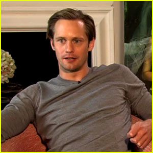 Alexander Skarsgard Talks Working With Dad Stellan