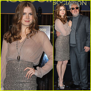 Amy Adams: Morgan Freeman Receiving Cecil B. DeMille Award!