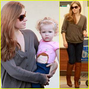Amy Adams: Aviana Has Muppet Mania!