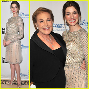 Anne Hathaway: Princess Grace Awards Gala!