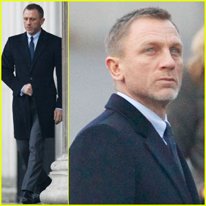 Daniel Craig: 'Skyfall' in Trafalgar Square!