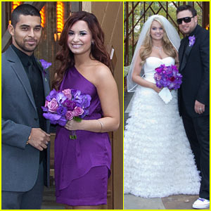 Demi Lovato & Wilmer Valderrama: Tiffany Thornton Wedding!