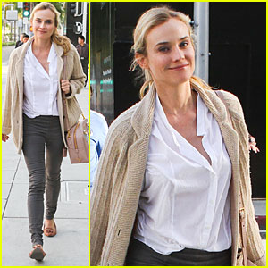 Diane Kruger: Fendi Shopping Spree!