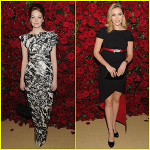 Emma Stone &#038; Elizabeth Olsen: MoMA Film Benefit!