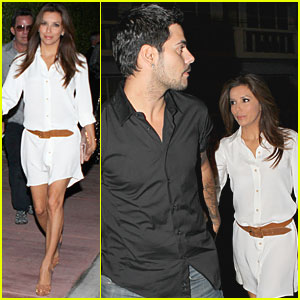Eva Longoria & Eduardo Cruz: Dinner Date in Miami!