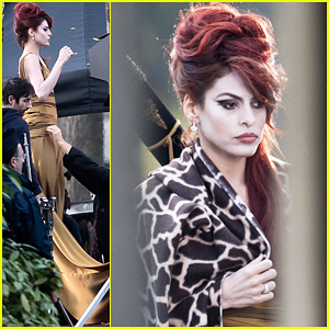 Eva Mendes: 'Holly Motors' Take Two!