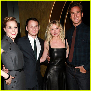 Evan Rachel Wood & Kirsten Dunst: Young Hollywood Round Table!