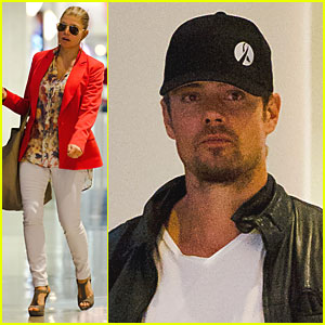 Fergie & Josh Duhamel Head Home for Thanksgiving