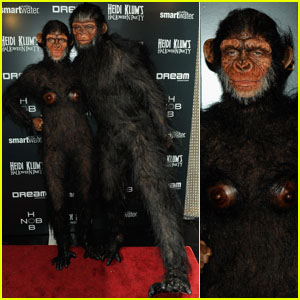 Heidi Klum and Seal Go Ape for Halloween!