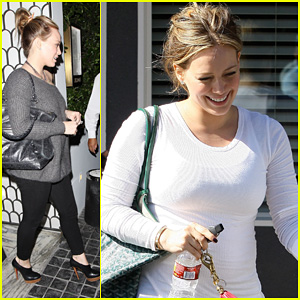 Hilary Duff: 'My Belly Is Really Starting 2 Grow!'
