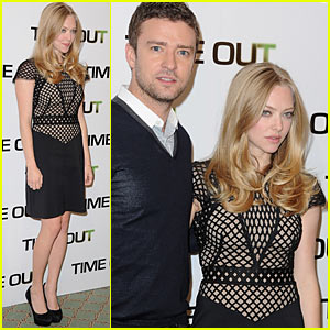 Amanda Seyfried & Justin Timberlake: Time Out!